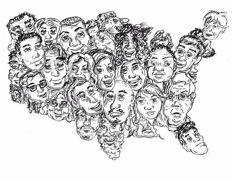 united faces