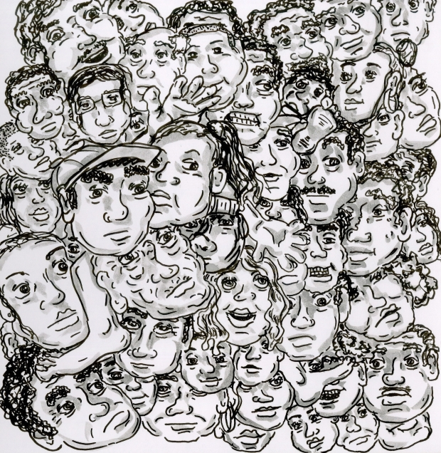 full of faces