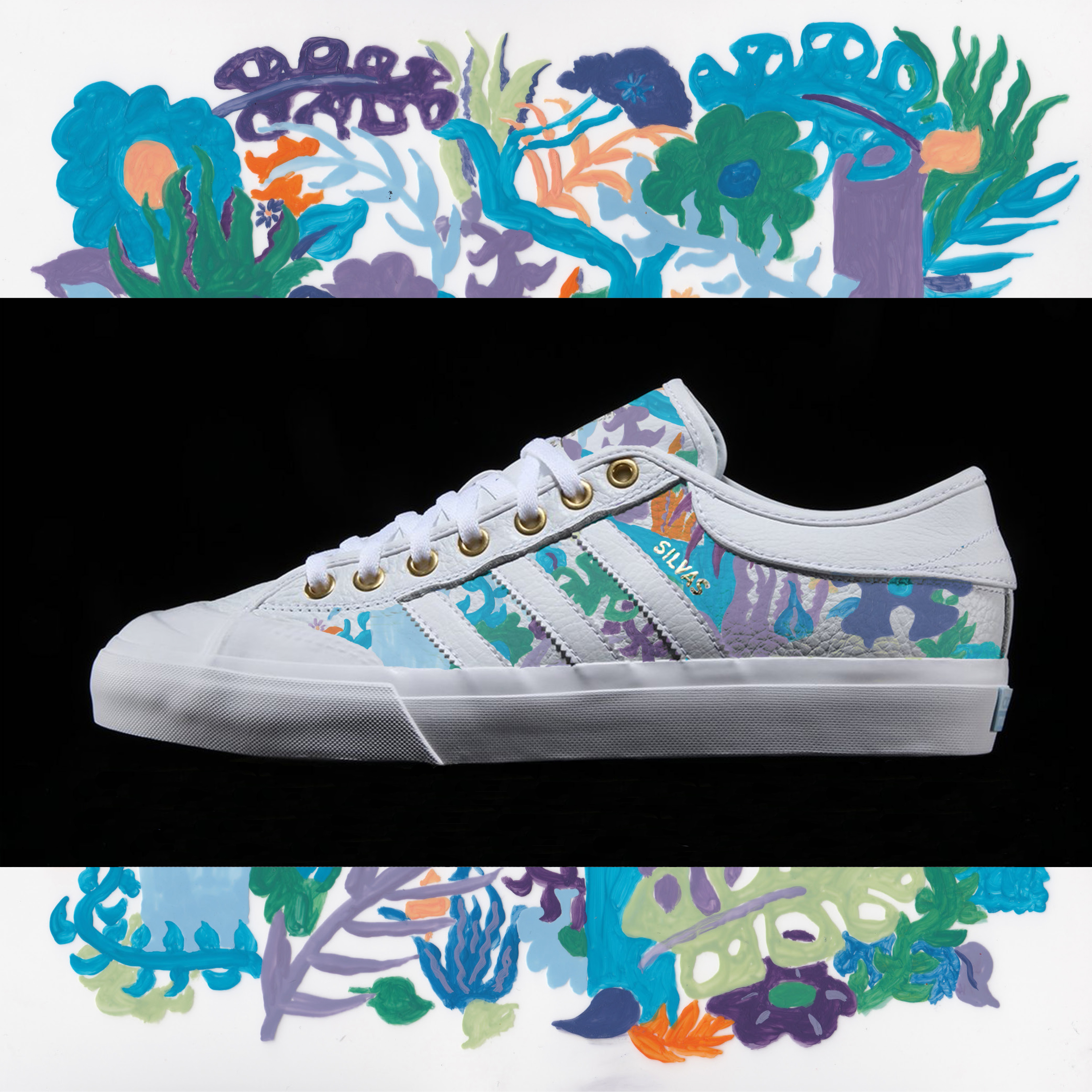 hot tropics adidas matchcourt layout