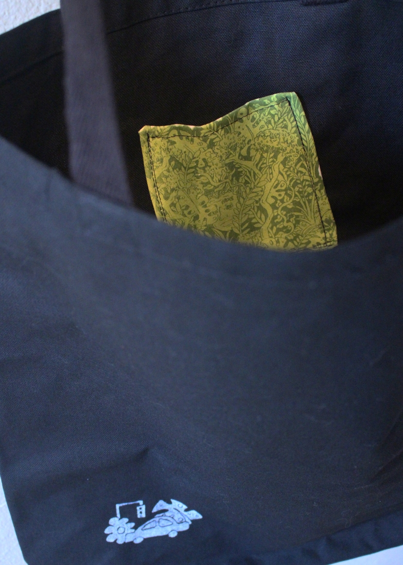 peek into bag